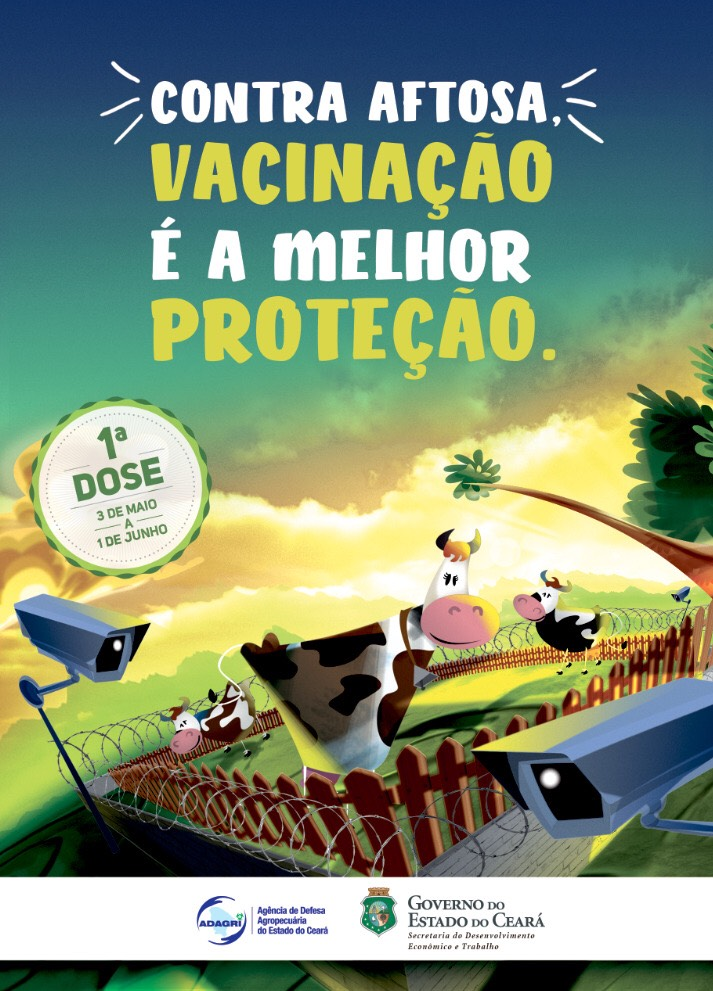 Produtores rurais devem vacinar seu rebanho até dia 01 de junho