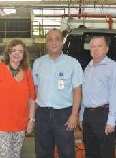 Secretários da Sedet visitam fábrica da Troller em Horizonte,  Região Metropolitana de Fortaleza