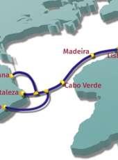 Novo cabo de fibra óptica vai conectar o Ceará à Europa