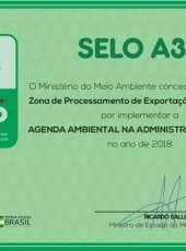 ZPE CEARÁ é premiada pelo Ministério do Meio Ambiente