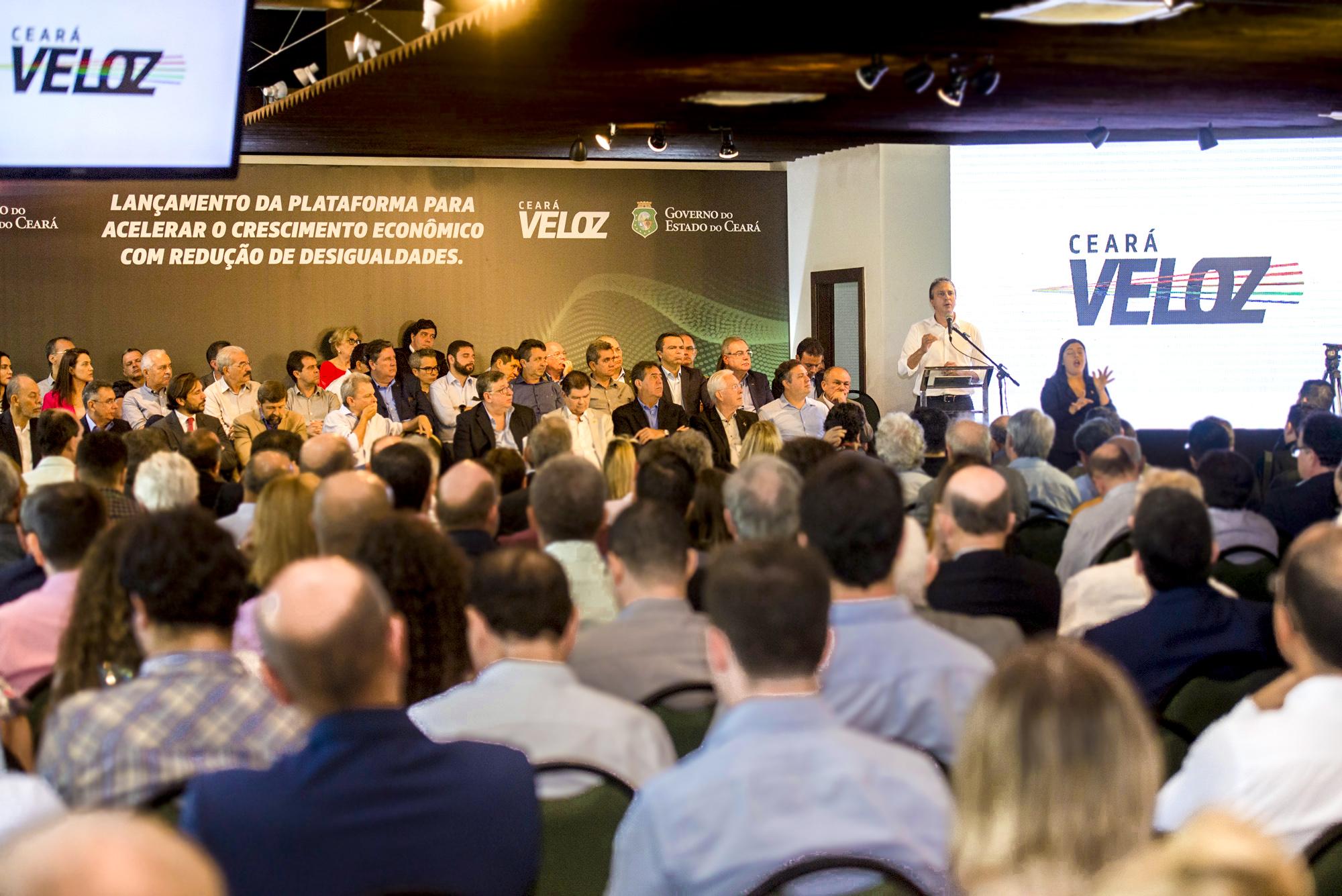Plataforma lançada pelo Governo do Ceará vai alavancar crescimento econômico e reduzir desigualdades