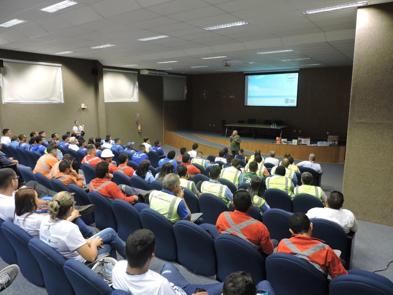 Prevenção de acidentes de trabalho é debatida no Complexo do Pecém
