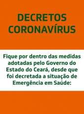 Acesse os Decretos Estaduais publicados durante a pandemia
