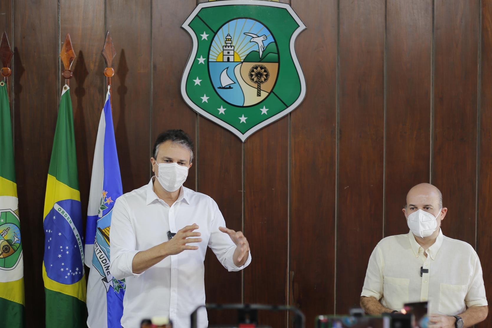 Governo do Ceará renova decreto de isolamento social e Fortaleza passa para 3ª fase de retomada econômica, mas com restrições