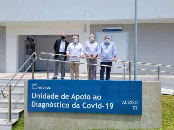 Secretários da Sedet visitam unidade da Fiocruz, no Eusébio